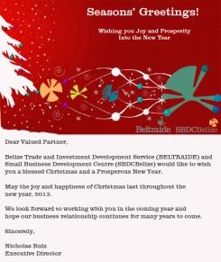 BELTRAIDE CHRISTMAS ECARD