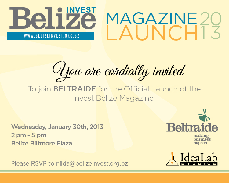 BELTRAIDE and Idealab officially LAUNCH Belize's First ...
