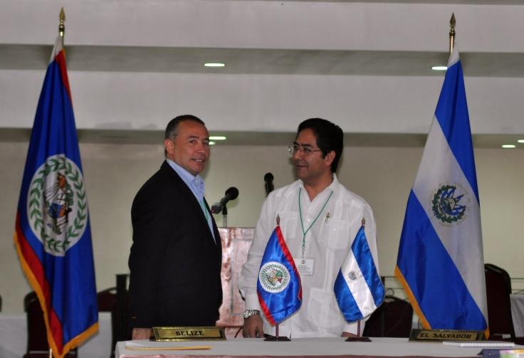 PARTIAL SCOPE AGREEMENT - BELIZE / EL SALVADOR