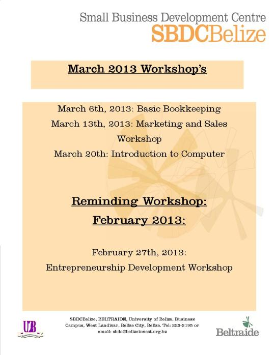 March workshop