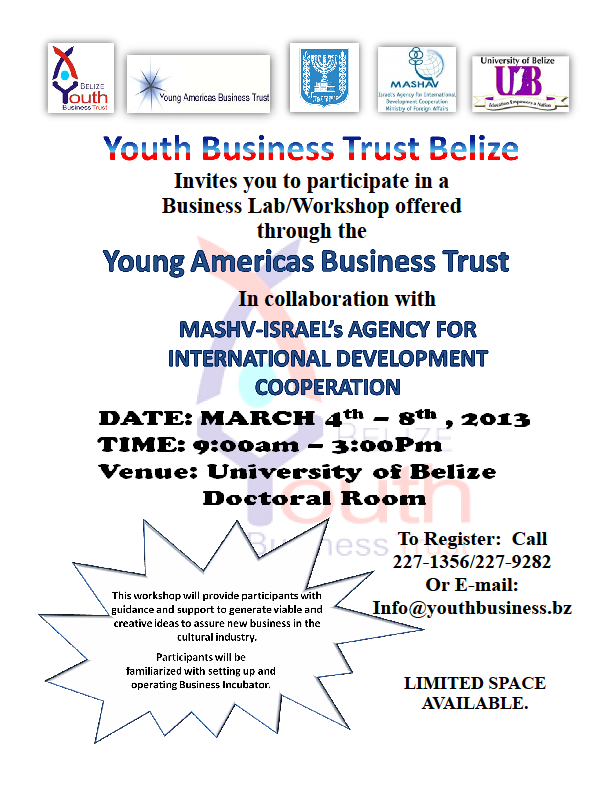 Youth Business Trust Belize