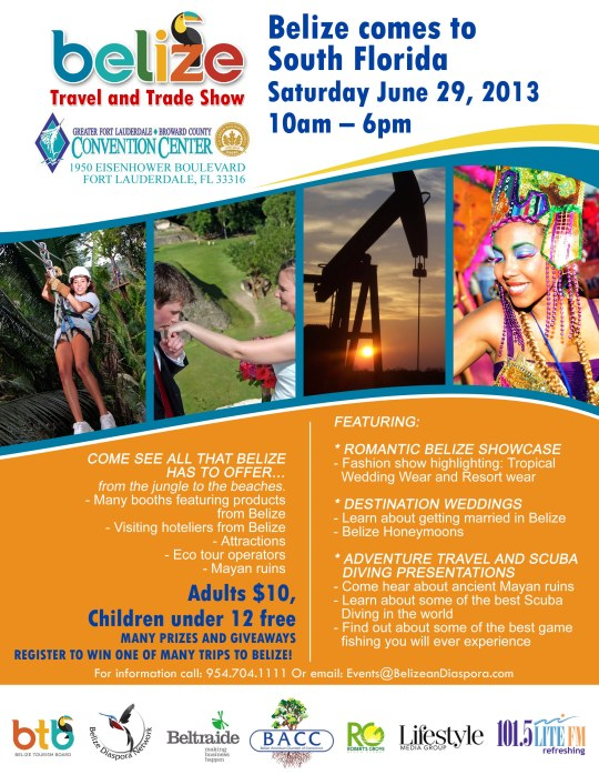 Belize Travel and Trade Show 2013