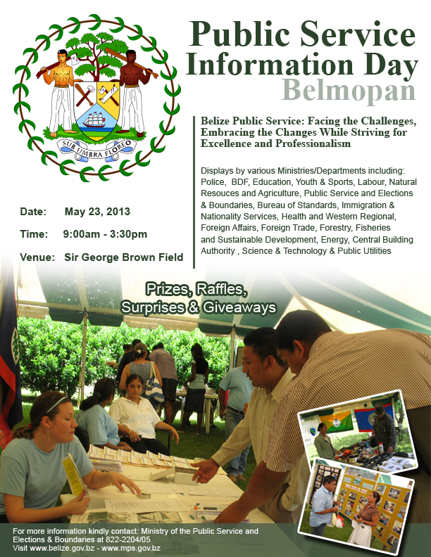 Belmopan City Public Service Information Day