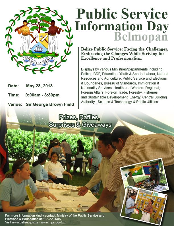 Belmopan City Public Service Information Day