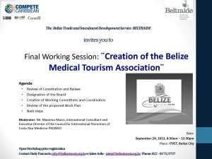 Invitation Final Working Session of BMTA