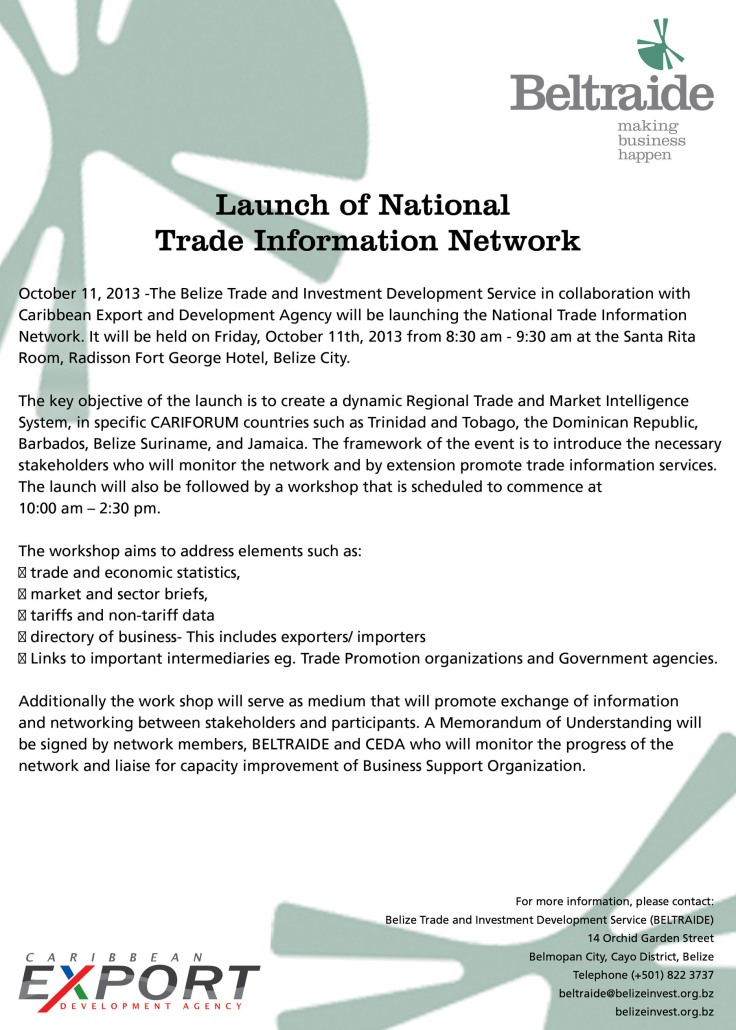 National Trade Information Network