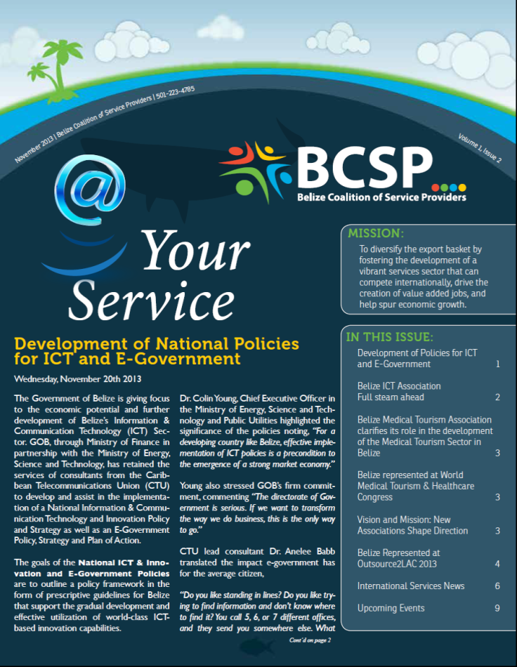 BSCP Newletter Volume 1, Issue 2