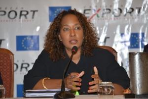 Mrs. Pamela Coke-Hamilton, Executive Director of the Caribbean Export Development Agency (Caribbean Export)