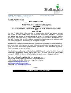Press_Release_-_MOU_BELTRAIDE_Peacework_July_2015