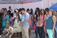 UB Students at the Career Fair