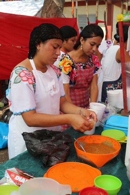 Serving pibil
