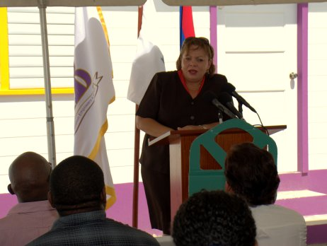 Hon. Tracy Taegar- Panton - Minister of State in the Ministry of Economic Development, Petroleum , Investment, Trade and Commerce