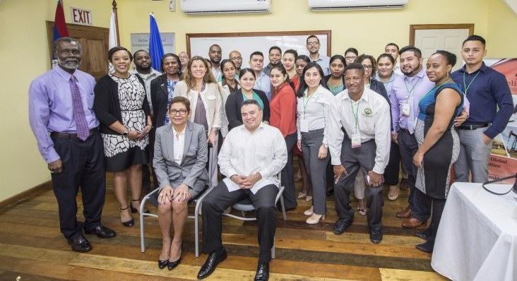Trainees and guest speakers of OAS GVC Training