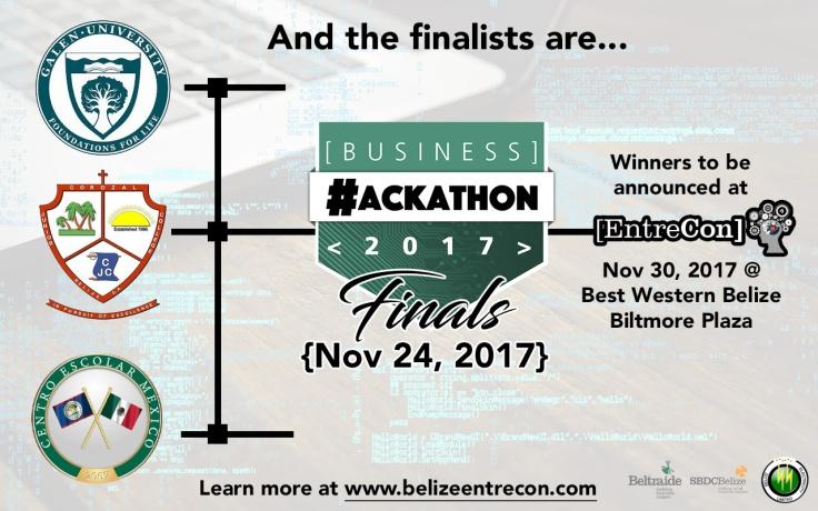 Hackathon Finalists