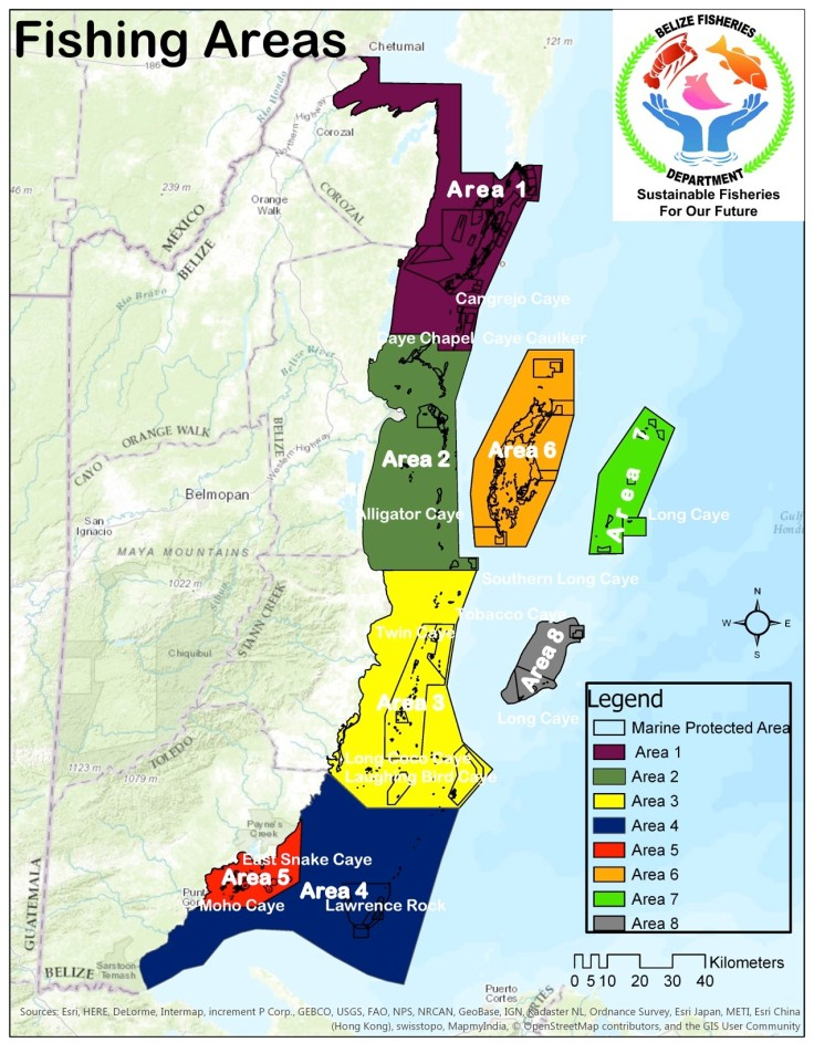 Managed Access Fisheries Map